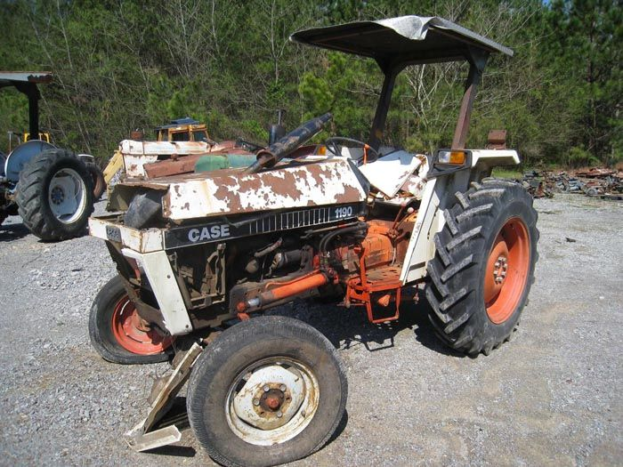 This tractor has been dismantled for Case 1190 tractor parts.  #case #tractor #parts