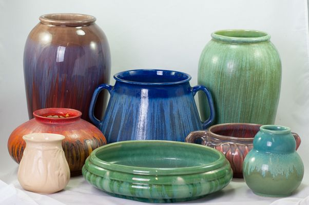 More shapes of Melrose by Hoffman Pottery