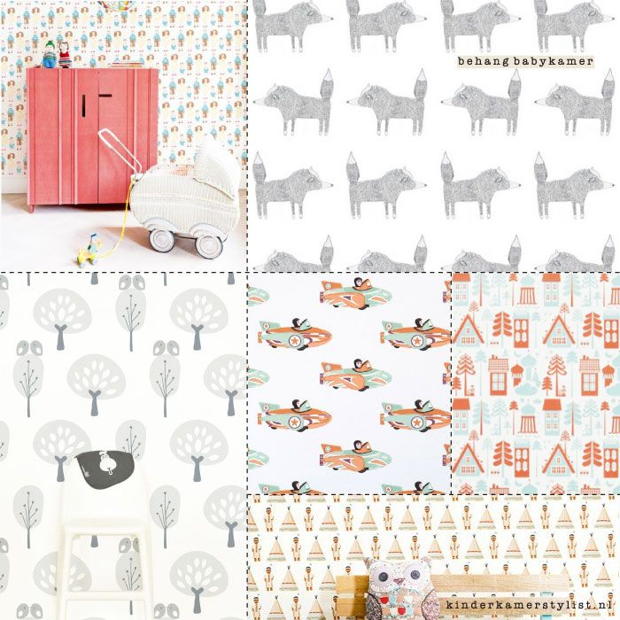I love wallpaper | Inspiration by kinderkamerstylist.nl
