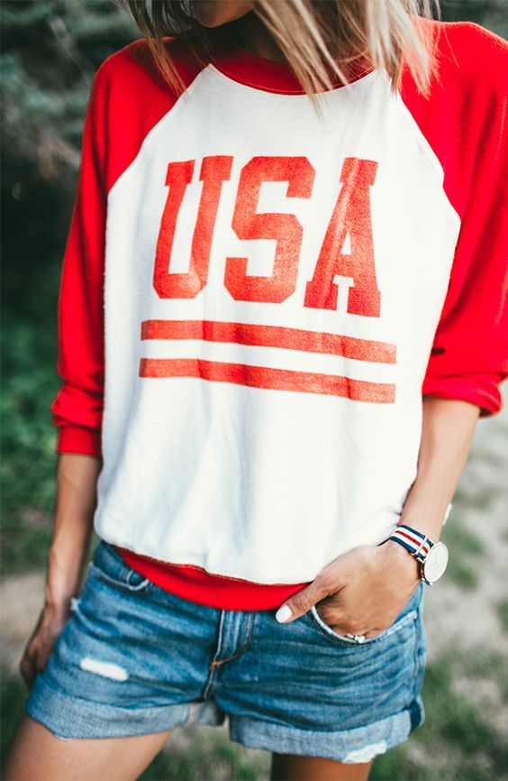 25+ best ideas about Patriotic Outfit on Pinterest