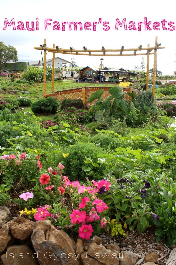 Farmer's Markets on Maui | A Maui Blog (Guest Blogger: Jennifer Poppy . Island Gypsy Hawaii)