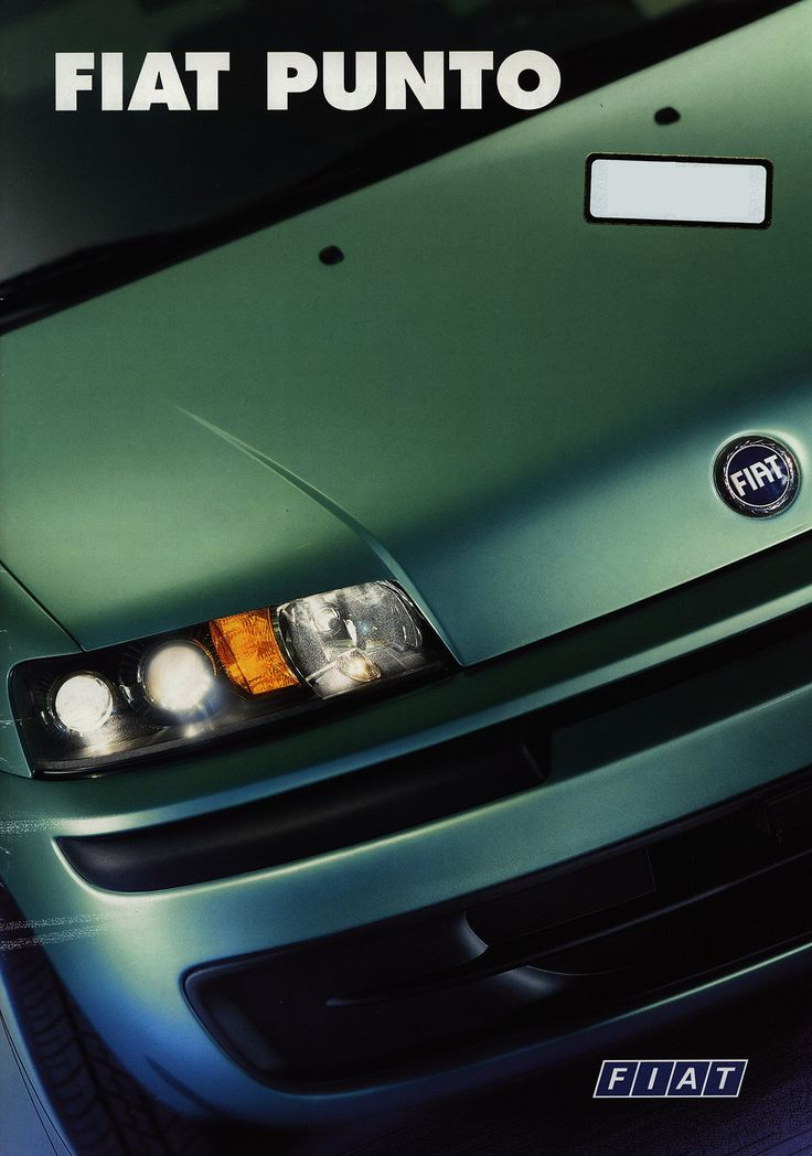 https://flic.kr/p/DkDD2V | Fiat Punto; 2000_1 car brochure by worldtravellib World Travel library