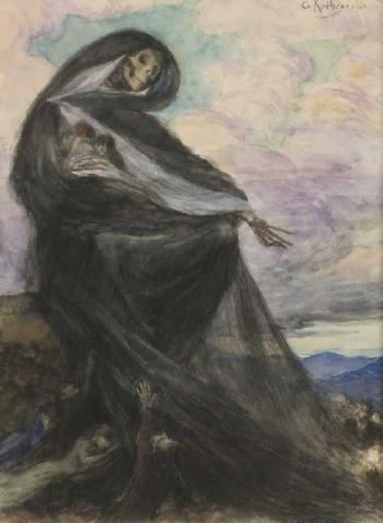 Georges-Antoine Rochegrosse - La mort