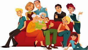 1.16 - LA FAMILIA. Es una unidad colectiva conformante de la sociedad y que tiende a ser una de las mayores categorías sociales sobre las cuales se asienta todo el desarrollo del individuo desde el nacimiento hasta su muerte.  A la familia se le conceptúa como aquel grupo constituido por un hombre que vive con una mujer, sancionados con derechos y obligaciones, y reconocidos públicamente.  La familia incluye, asimismo, a la prole, a los ascendientes, a los descendientes y a los parientes