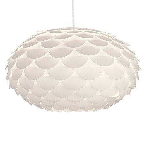 Modern Designer White Armadillo / Artichoke Ceiling Pendant Light Shade