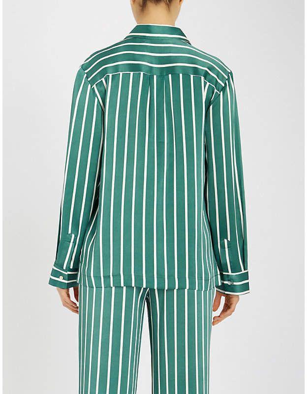 Striped woman pajamas