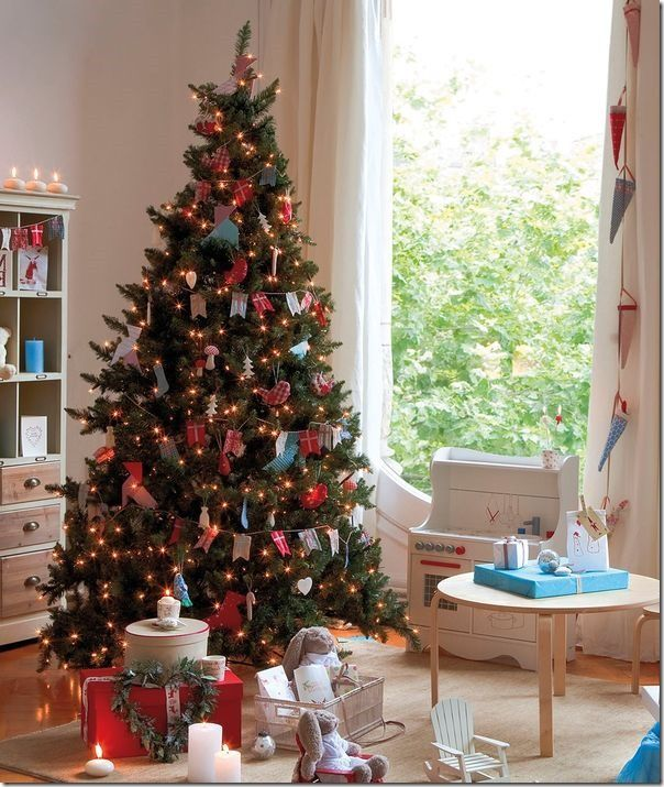 Très Oltre 25 fantastiche idee su Idee per l'albero di natale su Pinterest YJ05