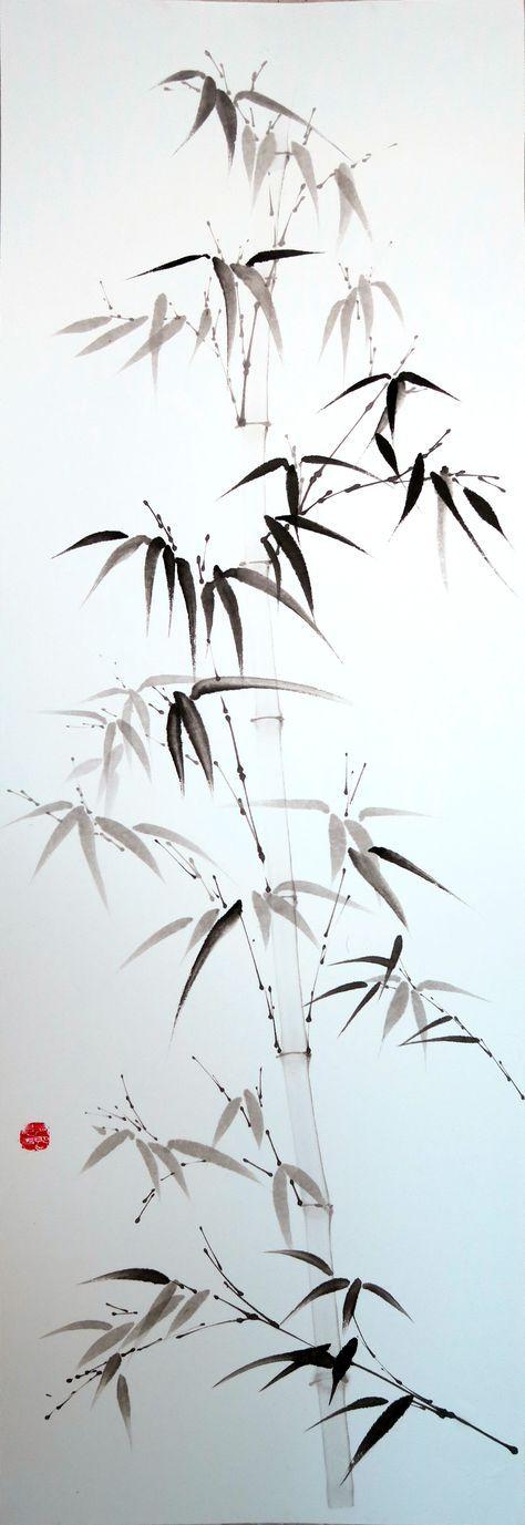 Un bambou gracile