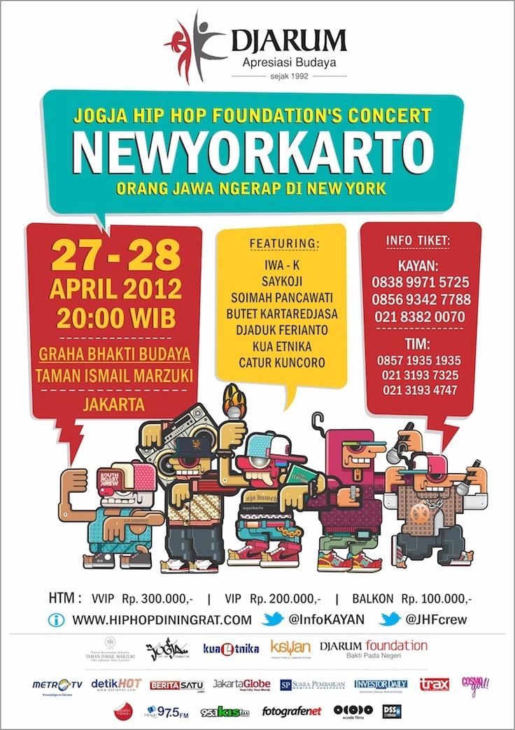 NEWYORKARTO - Jogja Hip Hop Foundation Concert... woohoooo