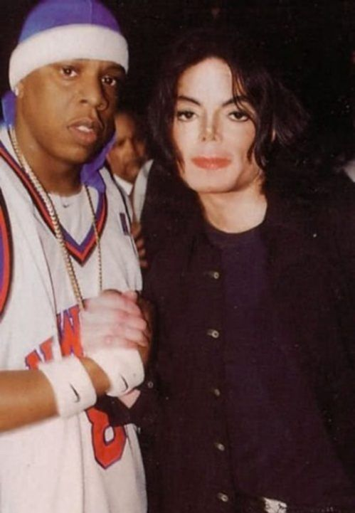 It's not everyday that you see a lot of Jay-Z and Michael Jackson in a picture together.