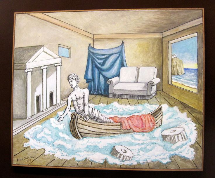 Chirico, le retour d'Ulysse