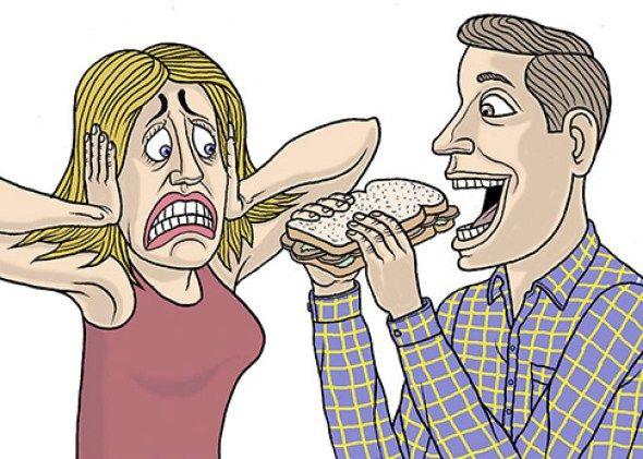 Als eetgeluiden je woedend maken, lees dit dan even! Iedereen heeft wel zo iemand in zijn of haar vriendenkring of familie, of...