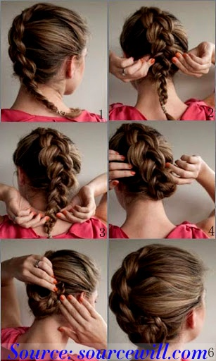 Stupendous 1000 Images About Diy Hairstyles On Pinterest Waterfall Braid Short Hairstyles For Black Women Fulllsitofus