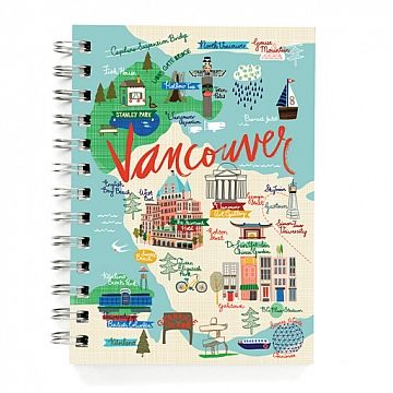 5x7 Journal Vancouver