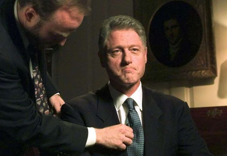 """August 17,1998: CLINTON ADMITS HAVING AN """"INAPPROPRIATE"""" RELATIONSHIP  -   Bill Clinton testifies before a grand jury that he has an """"inappropriate"""" relationship with former intern Monica Lewinsky."""
