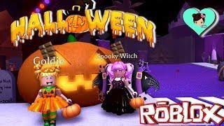 Jugando En Roblox Royale High Halloween Titi Juegos Roblox Games
