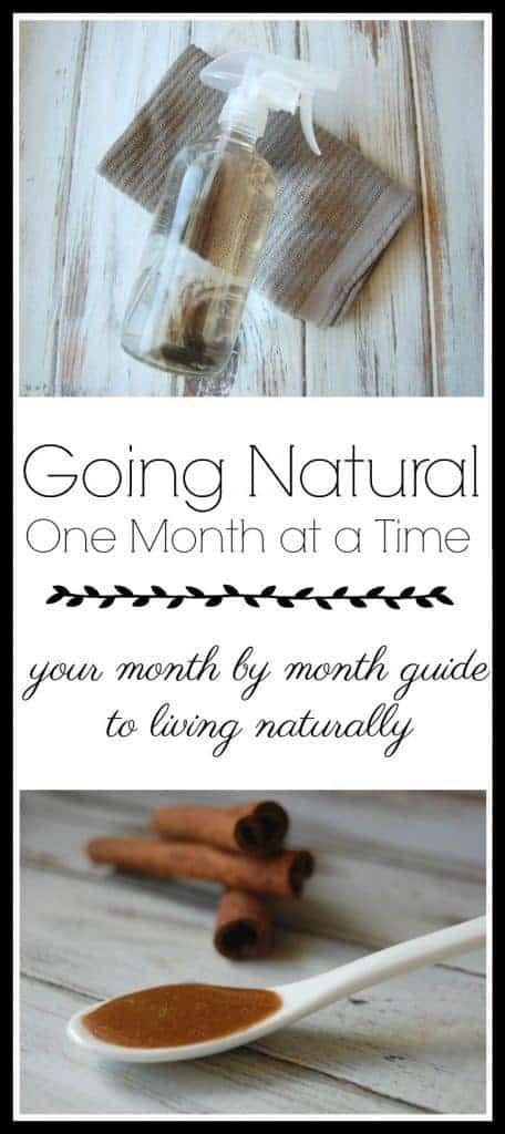 Going Natural – Ein Monat nach dem anderen
