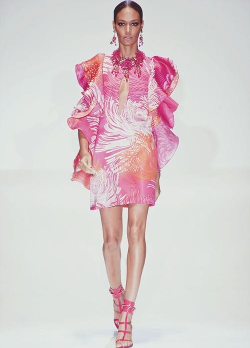 Gucci S/S 2013.Summer 2013, Fashion Weeks, 2013 Rtw, Spring2013, Gucci Spring, Milan Fashion, Spring Summer, Spring 2013,  Boa