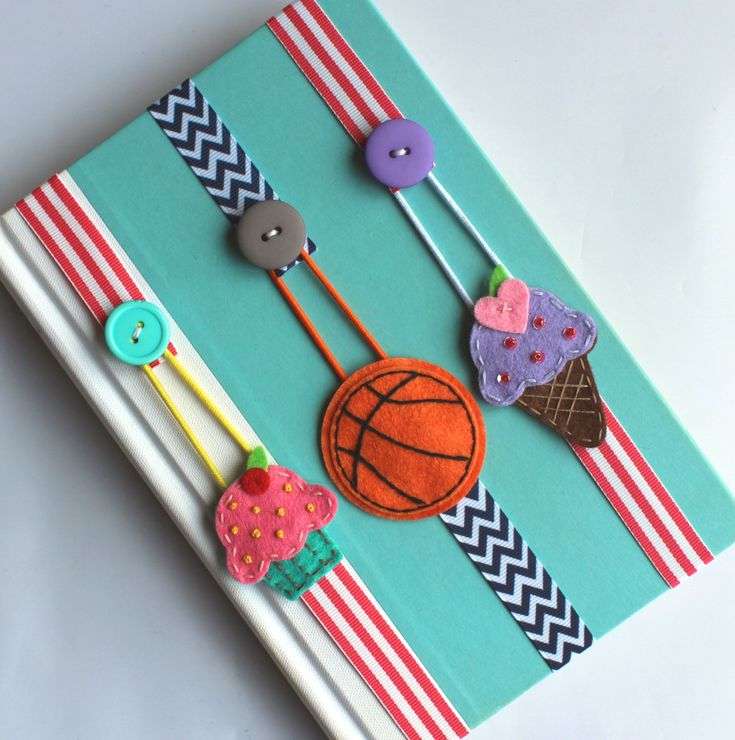 Pick ANY 2 Bookmarks, Elastic Ribbon Bookmark, Erin Condren Planner, Girls…