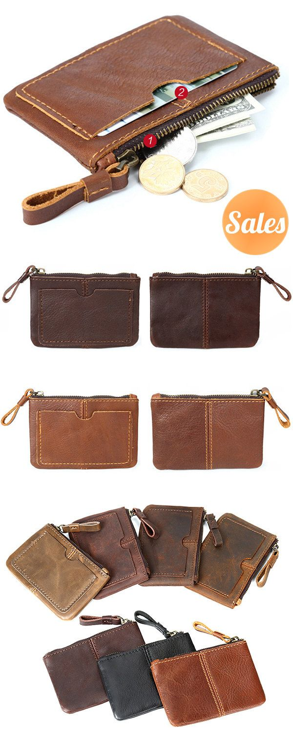 Perfect Size Wallet. 7 Colors Optional. Multipockets Design.