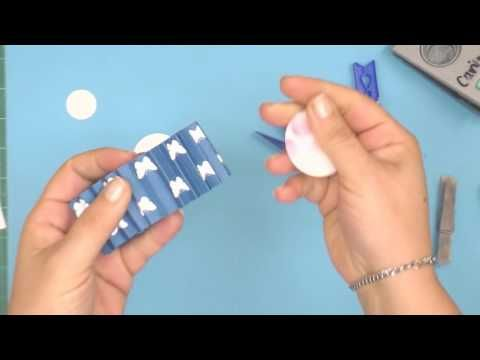 #DazzlingBlue Rosette - Step by Step Video #LadyPatternPaper #BasicEssentials