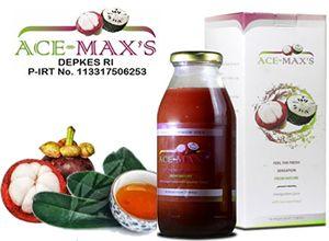 sekarang anda bisa mengkonsumsi Jus Kulit Manggis ACE MAXS yang diformulasikan khusus mengandung Manfaat Jus Kulit Manggis dan Daun Sirsak untuk menjaga kesehatan, merawat kecantikan, dan mengobati berbagai macam penyakit secara alami dan aman tanpa efek samping.