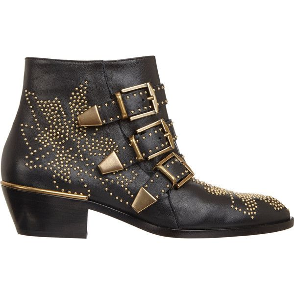 Best 25  Studded ankle boots ideas on Pinterest | Chloe boots ...