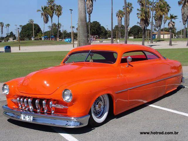 1951 Mercury Chop Top Hot Rod