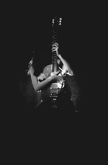: Music, Photos, Girl, White Photo, Photo Idea, Guitars, Acoustic Guitar, Electric Guitar
