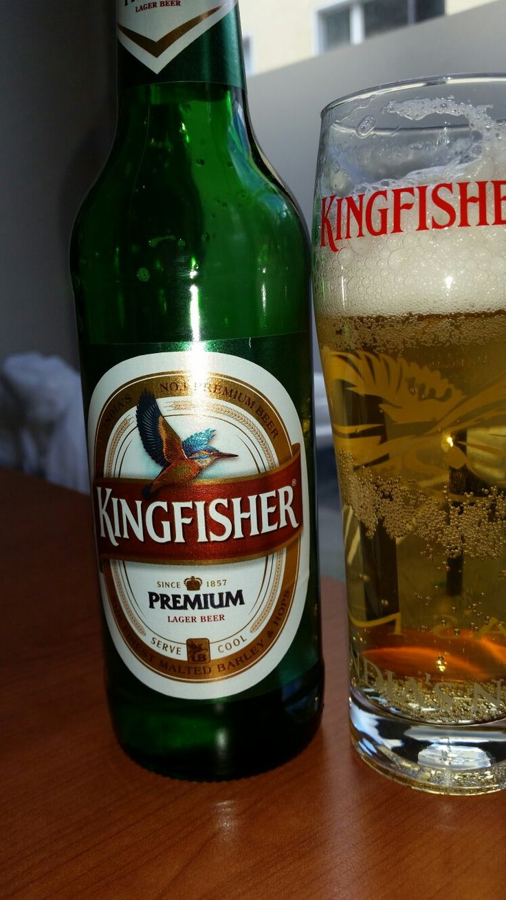Kingfisher Indian Lager (brewed in Germany) Kingfisher