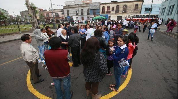 Sismo de 4,8 se sintió en Lima y Callao