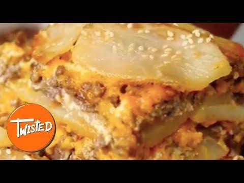 Cheeseburger Dauphinois - Twisted
