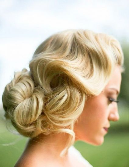 Vintage Wedding Hairstyles For Bridesmaids Signs 29+ Best Ideas  - Dresses/Vintage/Wedding.. - #Bridesmaids #DressesVintageWedding #hairstyles #Ideas