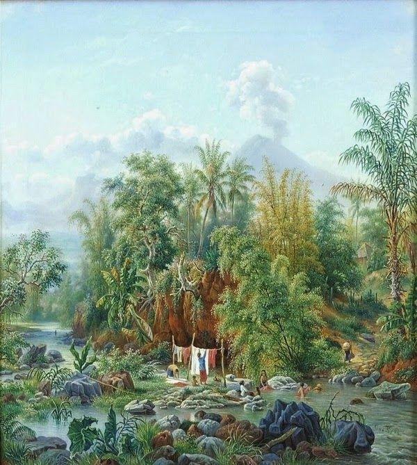 Maurits vd Kerkhoff - Sungai Brantas (1898)