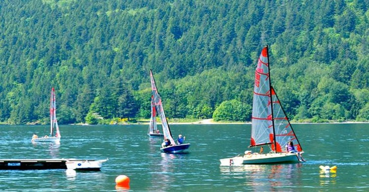 Sailing on Cultus Lake - Image Copyright Ken Bramble #sailing #outdoors