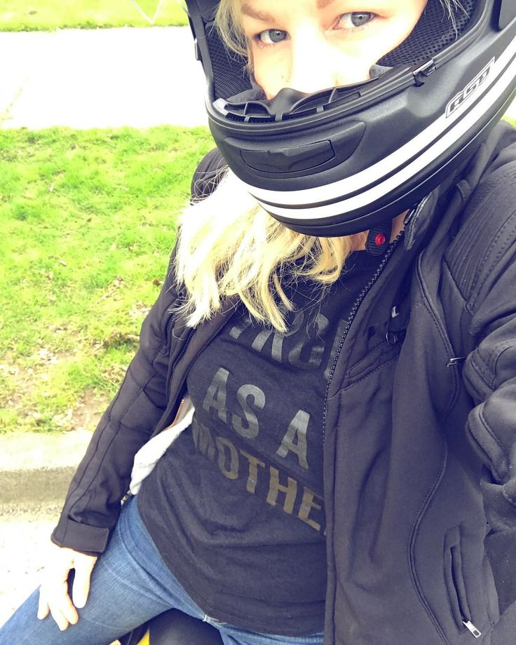 """66 Likes, 8 Comments - Anna (@anna.shalal) on Instagram: """"...'why do you want to ride a motorcycle?! It's so dangerous! Don't you think it's irresponsible as…"""""""