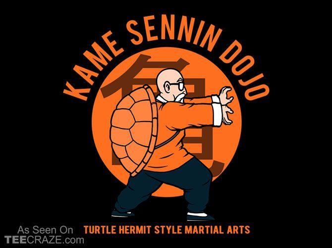 Kame sennin dojo t shirt http teecraze com kame