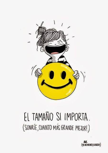 sonrie... (pineado por @PabloCoraje) #Citas #Frases #Quotes