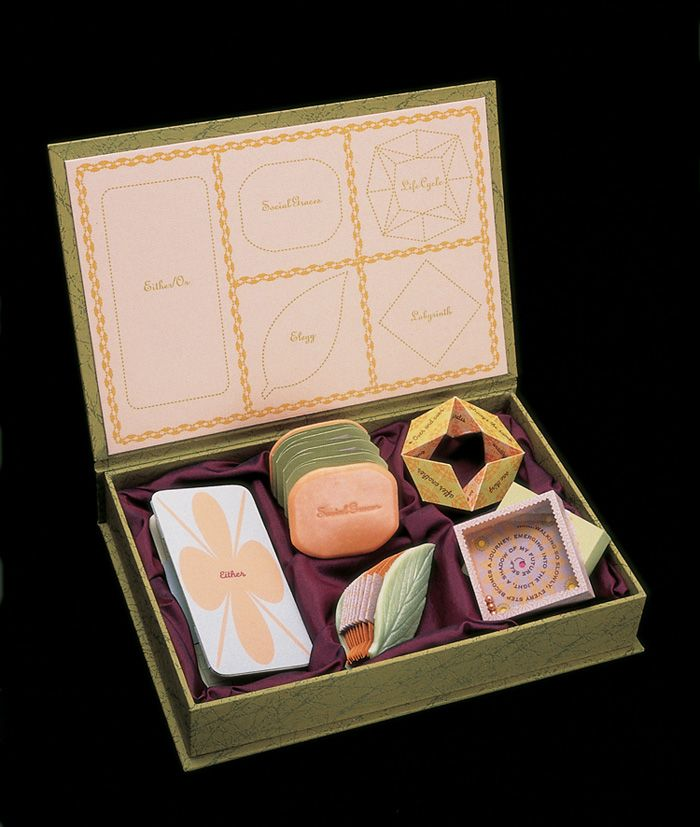 Julie Chen is one of my fave book artists! This is an artist's book pretty enough to eat.