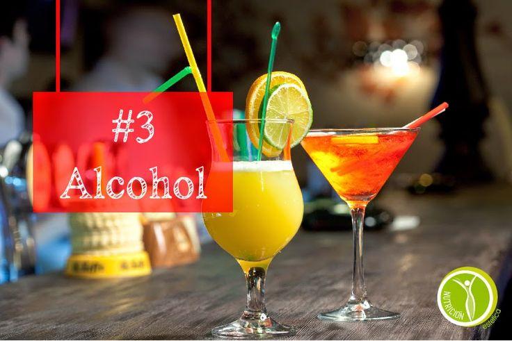 Nutricion Estetica: #3 ALCOHOL. 8 ALIMENTOS QUE DEBES EVITAR CUANDO ES...