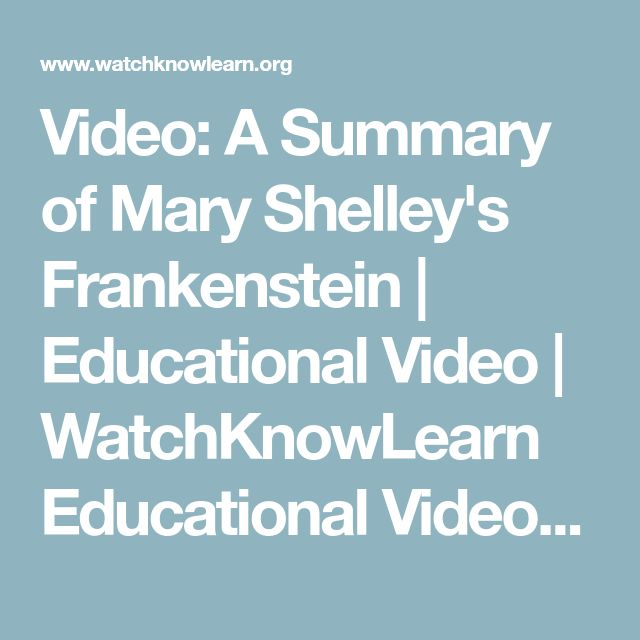 frankenstein mary shelleys educational opinion essay Frankenstein or the modern prometheus analysis english literature essay in the novel frankenstein by mary shelley traced not the answer, in my opinion.