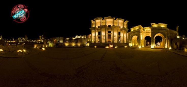 ''BÜYÜK İSKENDERİ'İN KURDUĞU ŞEHİR''  Efes Antik Kent'i Sanal Tur ile 360 Derece Gez!  Mekan360 ile her yerden, gezdiğin yeri 360° hisset.