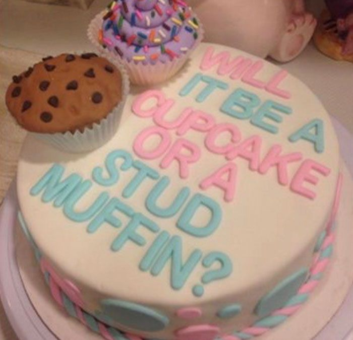 40 Cursed Cakes From Cakes With Threatening Auras Gender Reveal Cake Baby Gender Reveal Baby Reveal Party