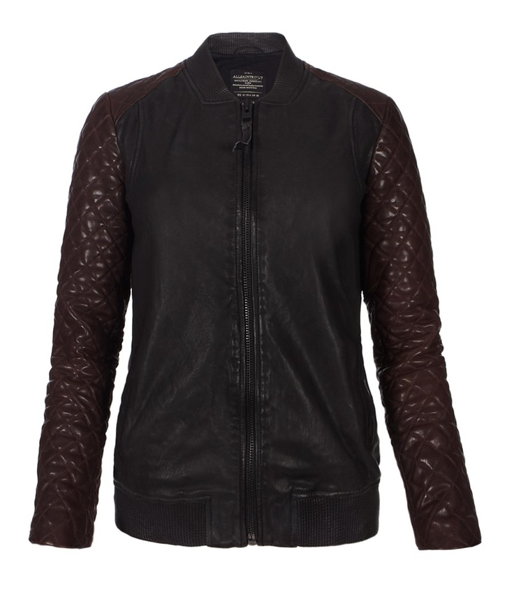 Love! From AllSaints- Rixey Leather Bomber