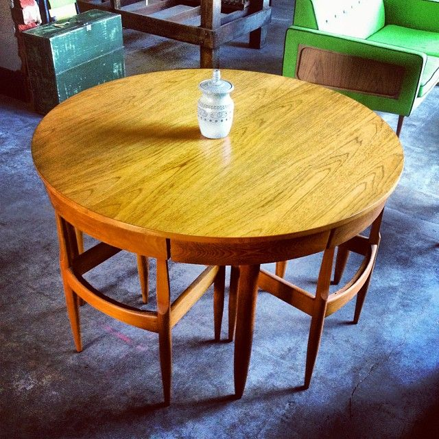 Another shoutout to australian design. 1960s extension table by ernst hansen. One of the many designers we stock in our warehouse showroom . #melbourne #midcentury #melbournestyle #melbourneshopping #20thcentury #retro #vintageshop #vintageindustrial