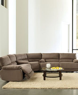 Nina Fabric Sofa Living Room Furniture Collection Power Reclining Couch R