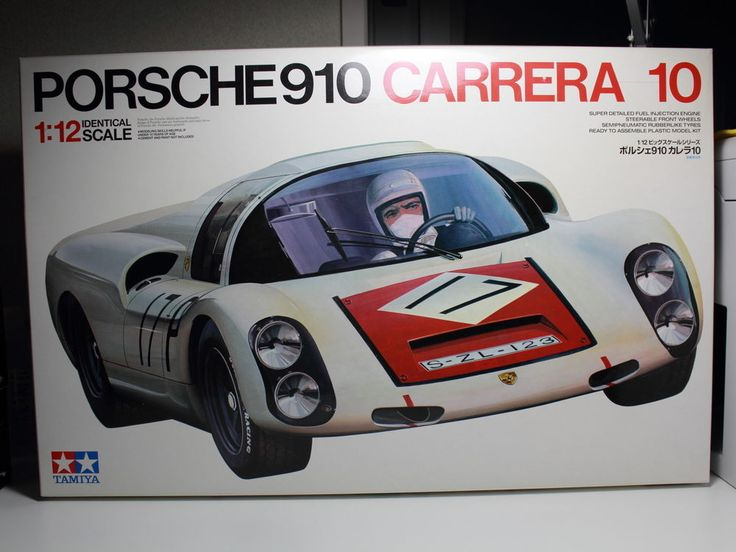 Tamiya Porsche 910 Carrera 10 Big Scale 1 12 Model Kit