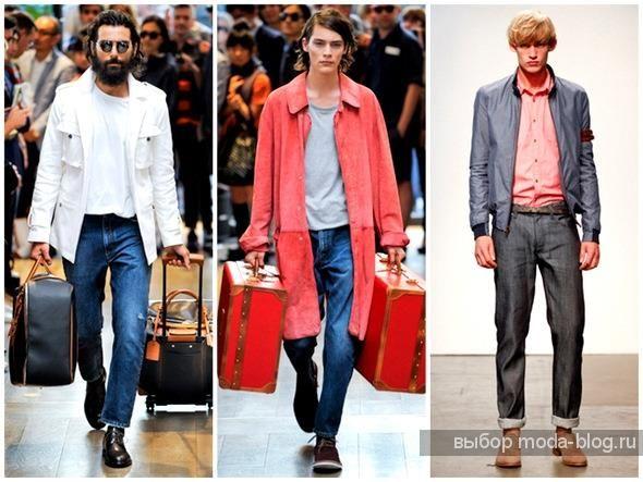 Модно сапоги джинсы
