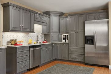 Gray Kitchen Cabinets Gray Kitchens And Contemporary