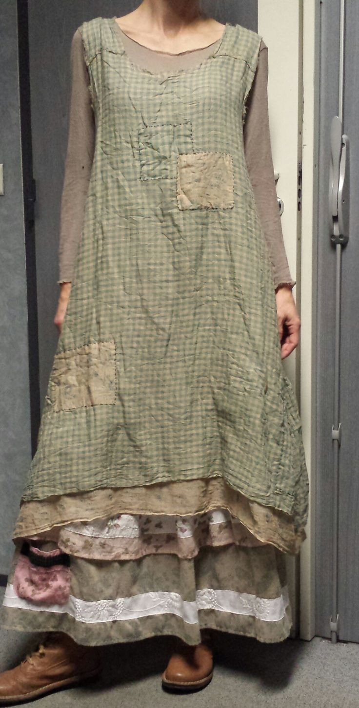 """Baileybelle Sleeveless Slip Dress Patches"" de chez Magnolia Pearl ♡♡♡"